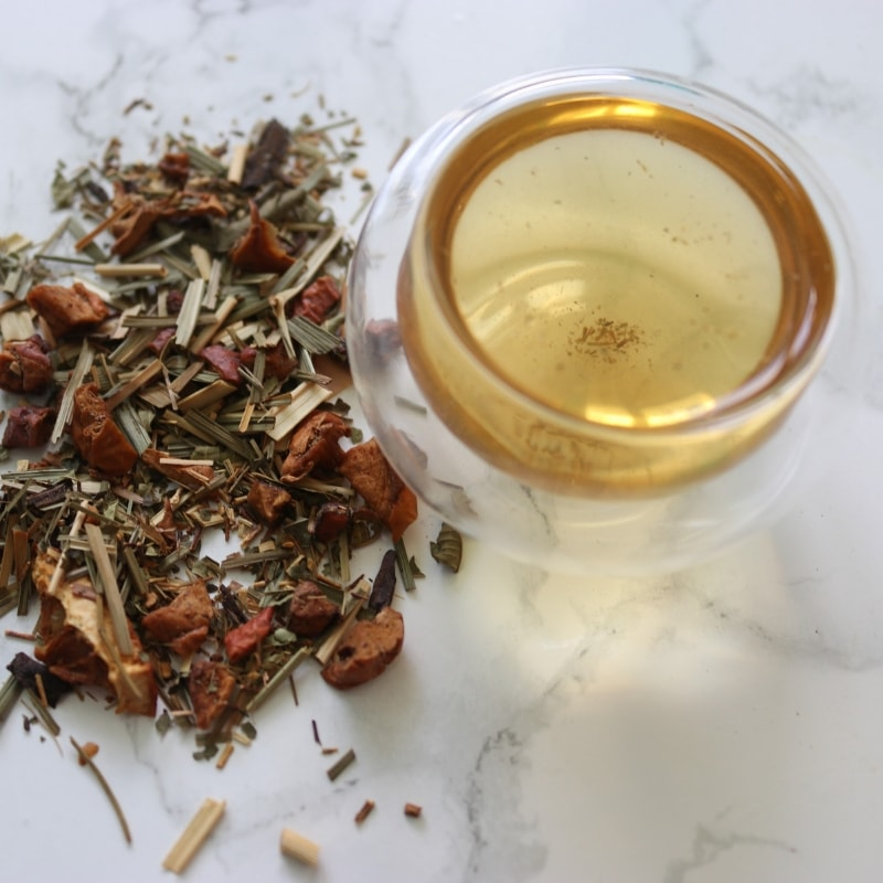 infusion citronnelle vanille